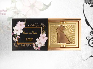 Greeting Couple Wedding Favour